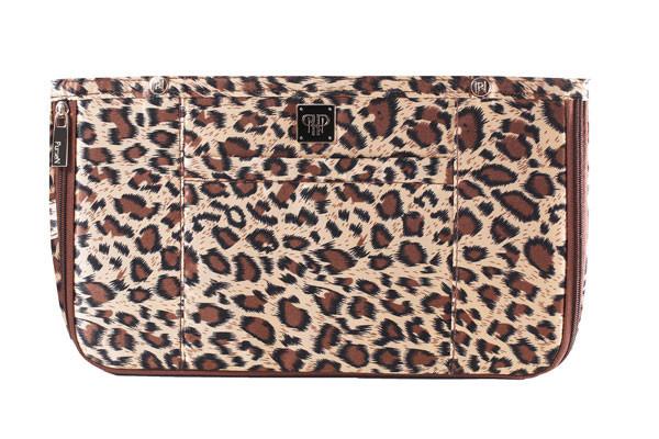 PurseN handbag organizer insert, leopard print,$58