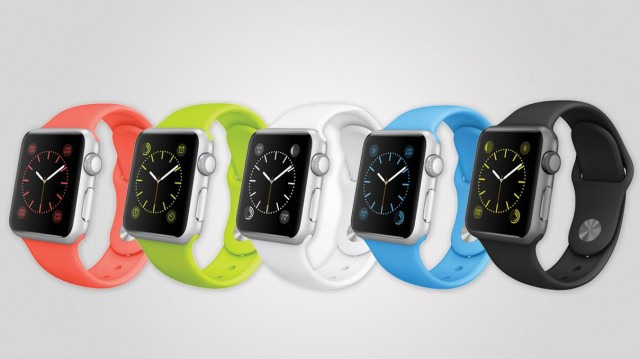 Apple Watch Sport, Available April 24