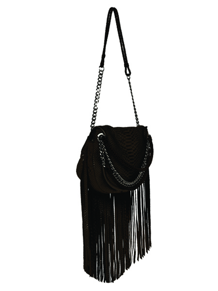 Ramy Brook Camile Fringe Satchel, $425
