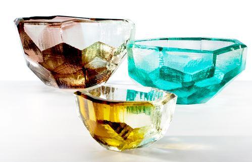 """Vitreluxe Crystal Bowls (4"""" diameter),$78"""
