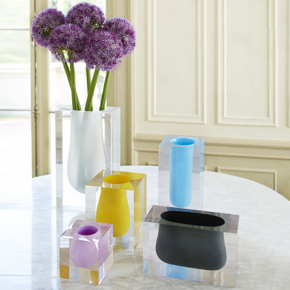 Jonathan Adler Bel Air Mini Scoop Vases, $98