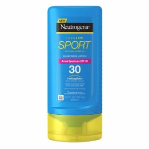 Neutrogena CoolDry Sport Sunscreen Lotion, SPF 30, $10.99