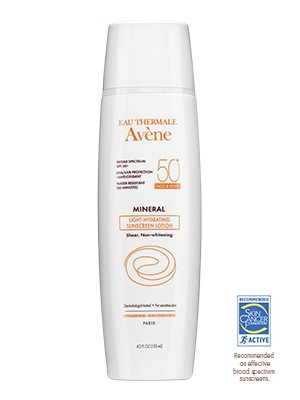 Avene Mineral Light Hydrating Sunscreen Lotion for Face and Body SPF 50+, $36