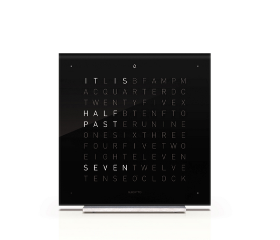 Qlocktwo Touch alarm clock: $616.00. Available at SUITE NY.