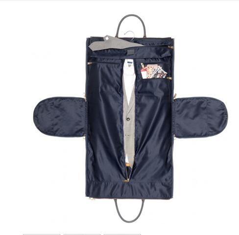 InsideGray Waxed Garment Weekender - $395.00 by Hook &Albert