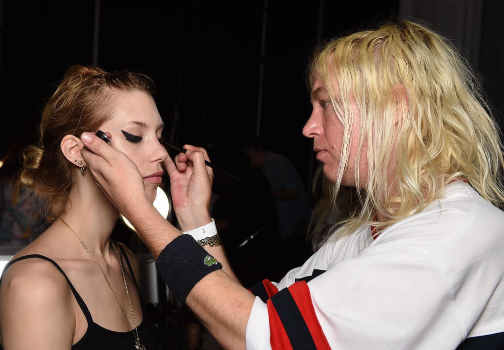 Lead Makeup artist Aaron de Mey for NARS Cosmetics