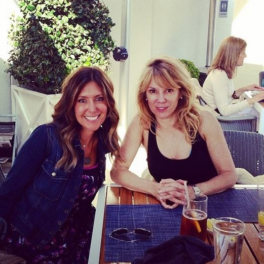 Lunch in Beverly Hills with my friend, RHONY Ramona Singer