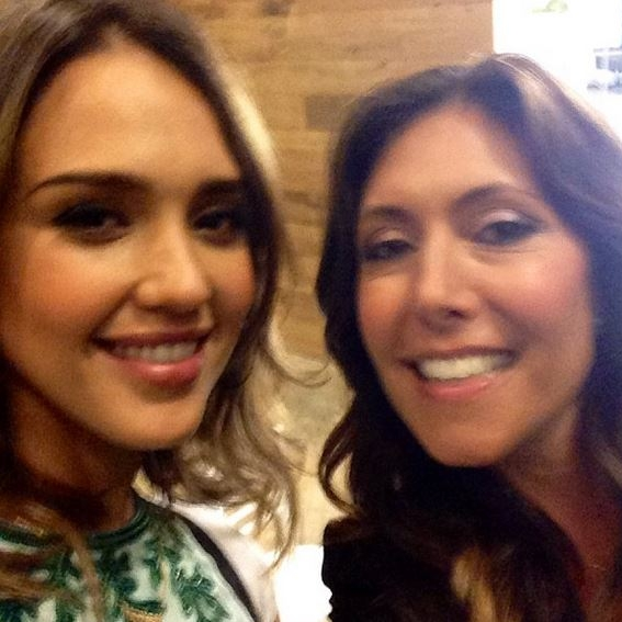 "Selfie with Jessica Alba at the ""Honest Turns 2!"" Party in Santa Monica"