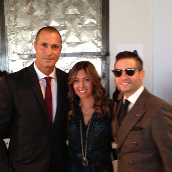 With Nigel Barker and Josh Flagg