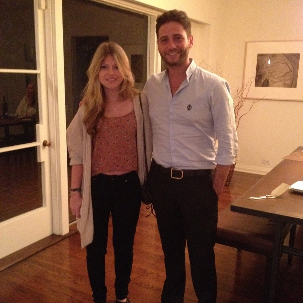 Rachel Meyers and Josh Flagg from Bravo's Million Dollar Listing LA.