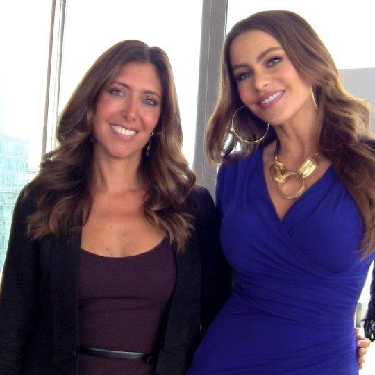 With Sofia Vergara at her Kmart clothing launch event