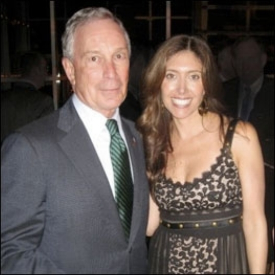 With Mayor Bloomberg at the Riverkeeper Event