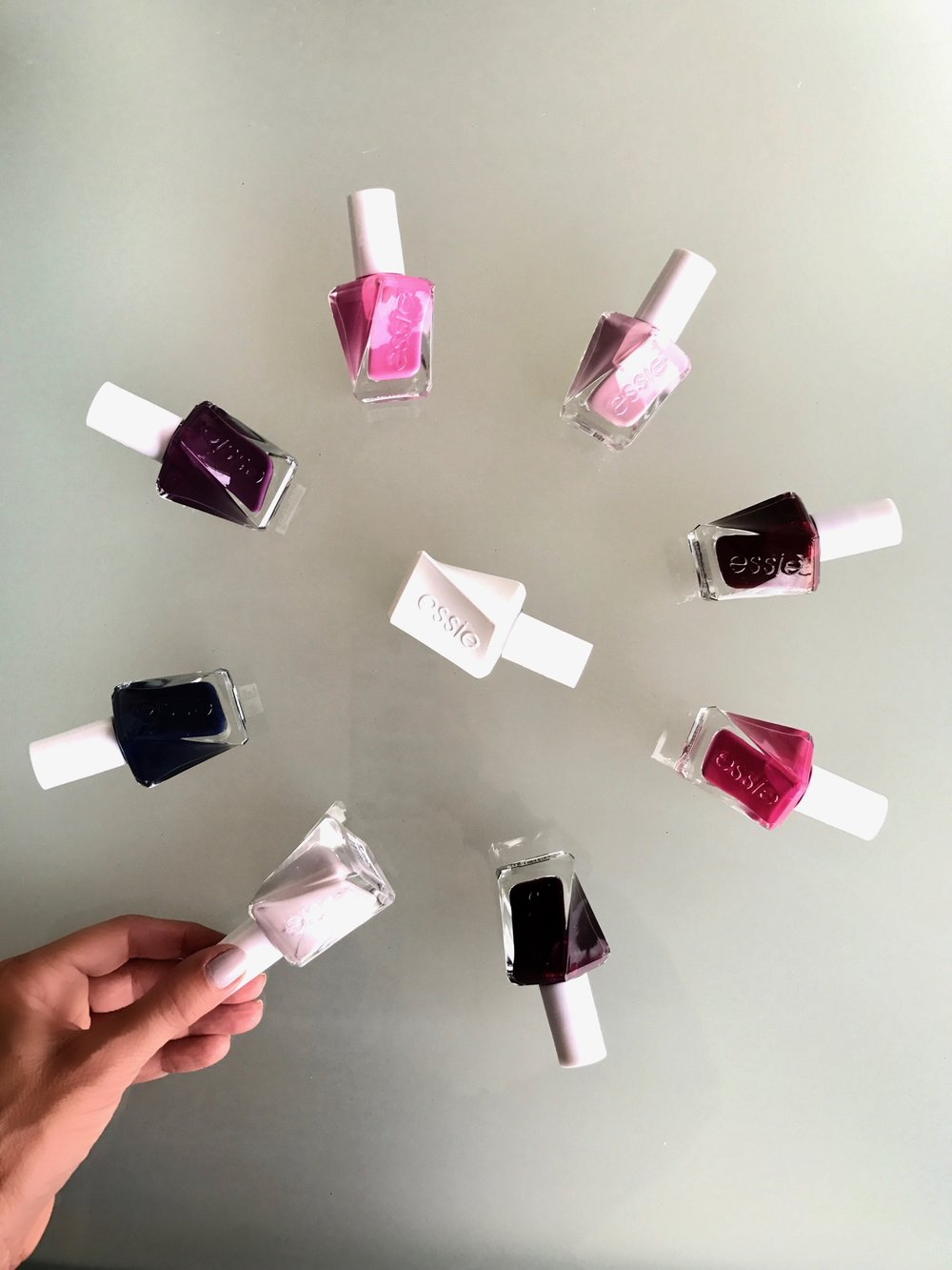 Melissa Meyers + essie gel couture