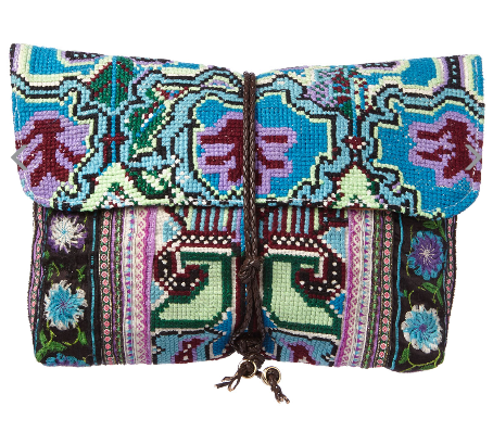 JADEtribe Blue Multi Clutch