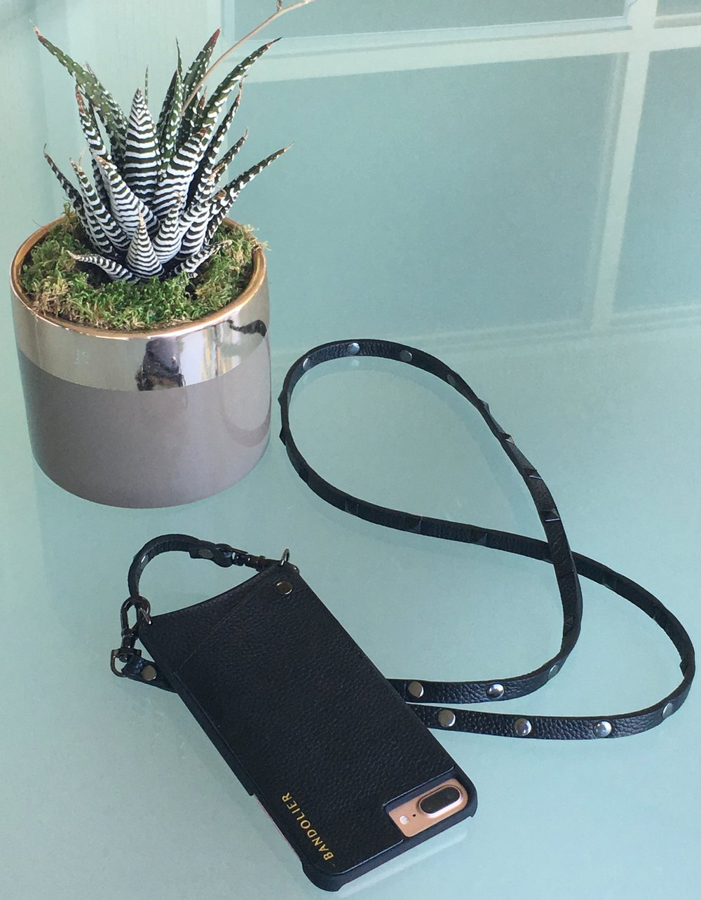 BUY:   Bandolier Sarah Pyramid Stud iPhone Case