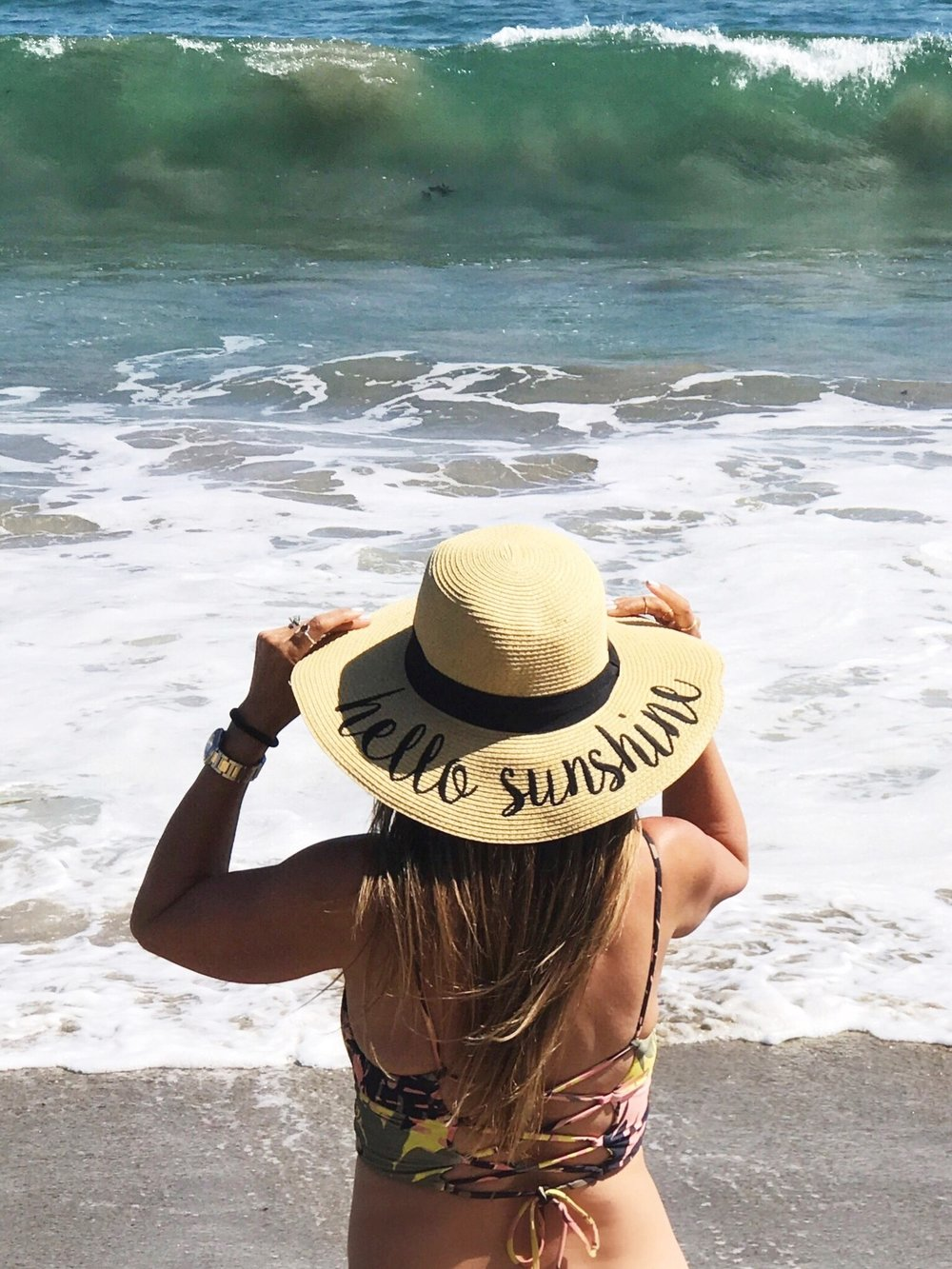 Melissa Meyers Sunshine Hat