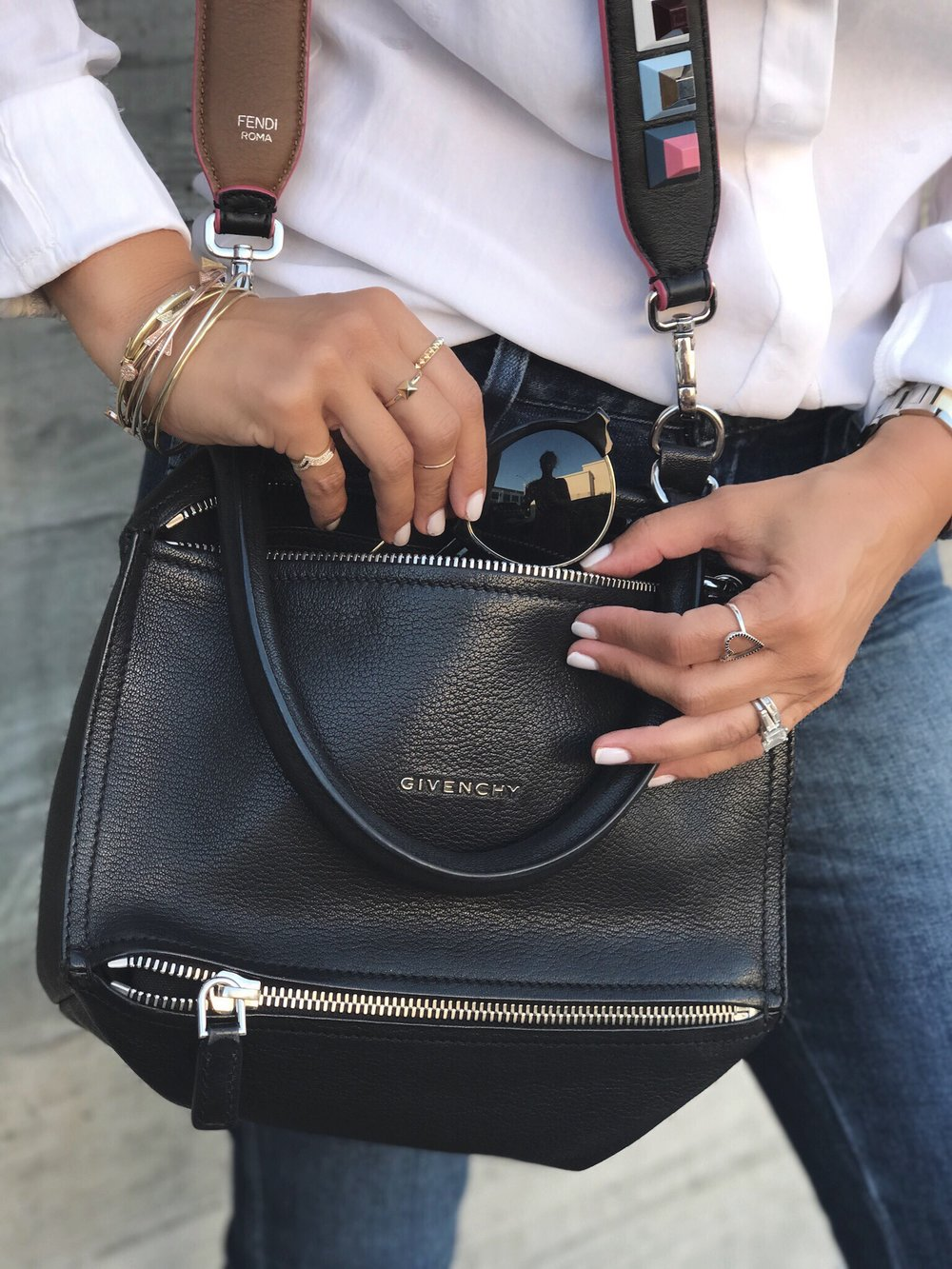 feaf30494e9b6 Fendi Handbag Strap — The Glow Girl by Melissa Meyers