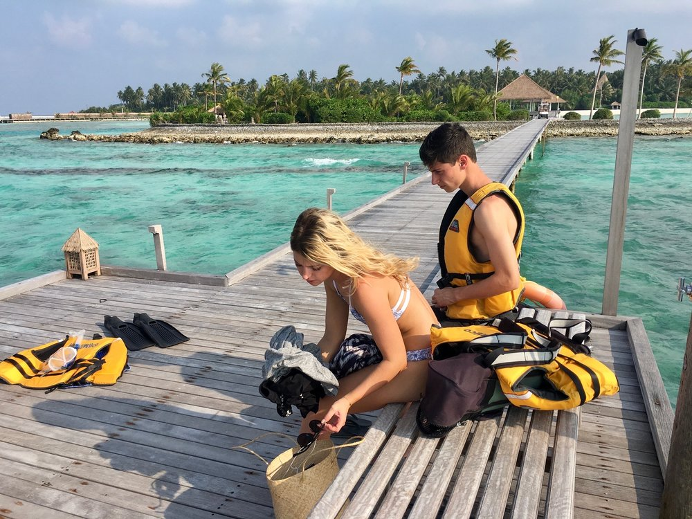 Melissa Meyers Maldives