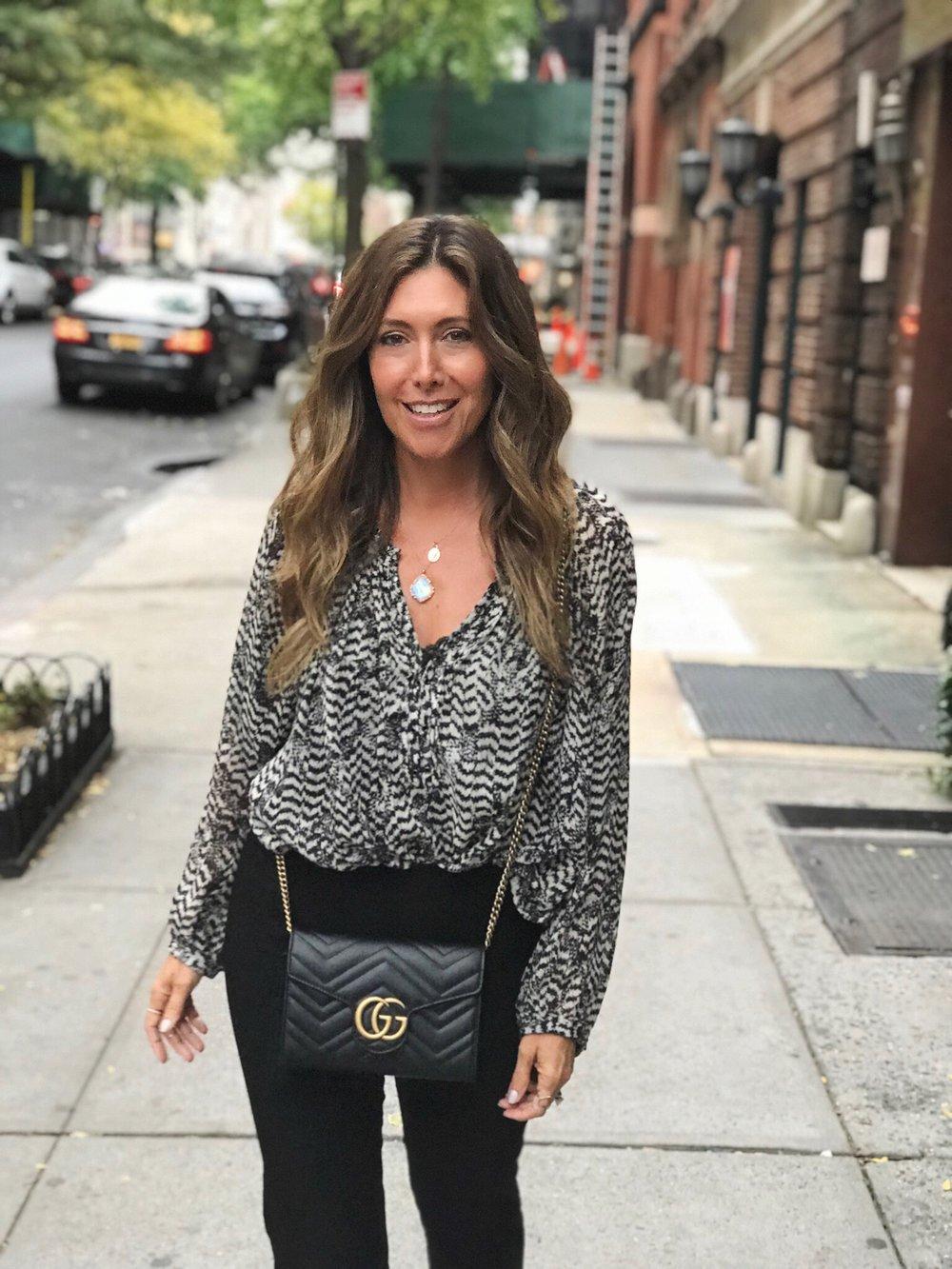 Melissa Meyers Black Bag