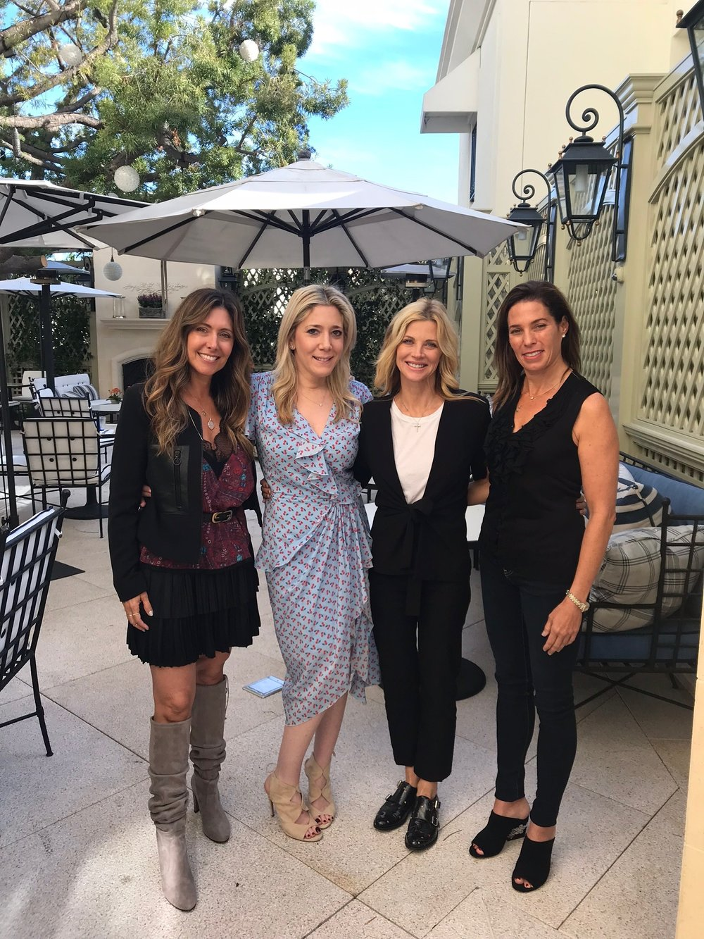 Melissa Breitbart, Janet Gunn, Deborah Galant
