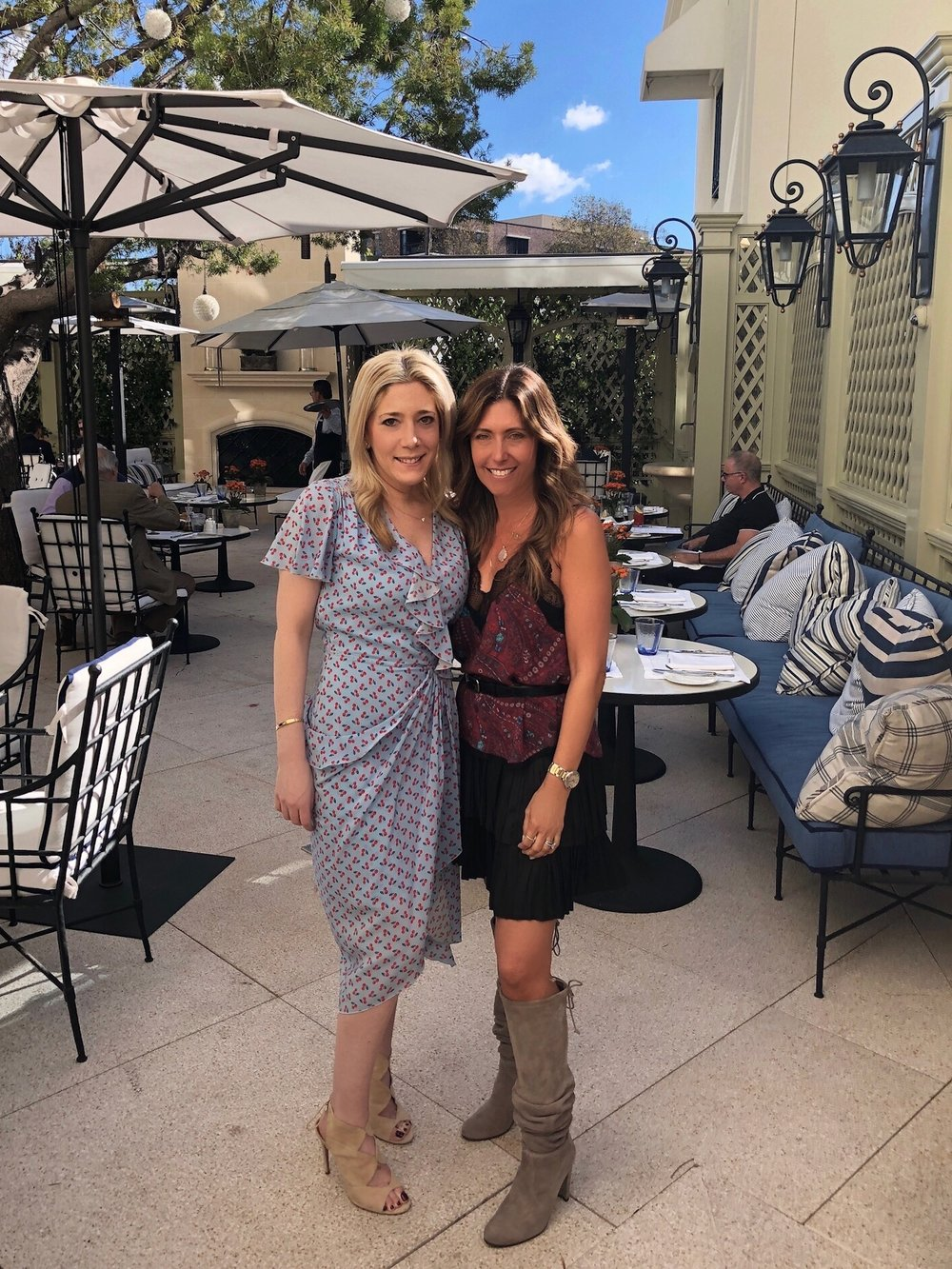 Pictured with Melissa Breitbart, Director of DELGATTO's Charitable Division