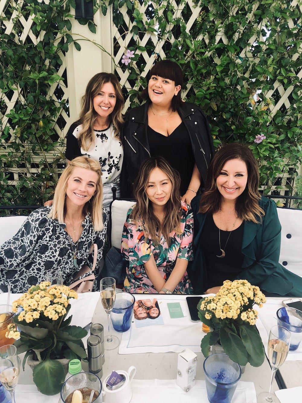 Nicolette Mason, Janet Gunn, Ellenor Kim and Nicci Levy