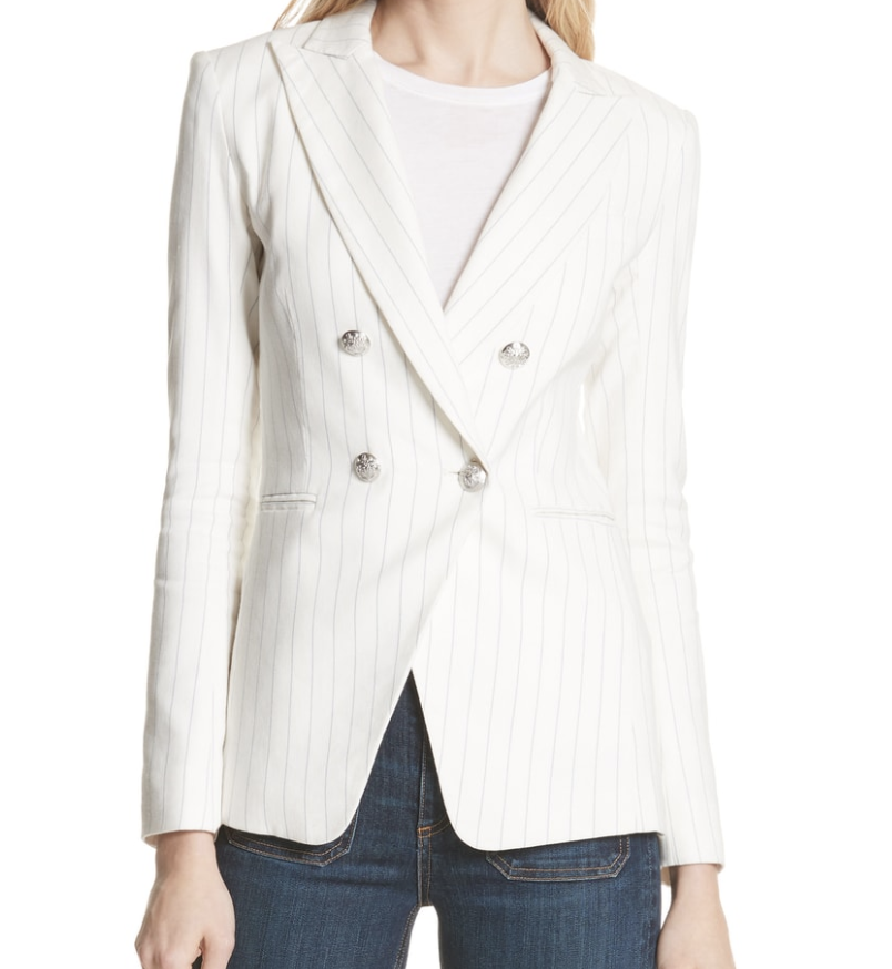 Veronica Beard Pinstripe Jacket