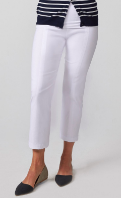 Audrey Crop LITE White