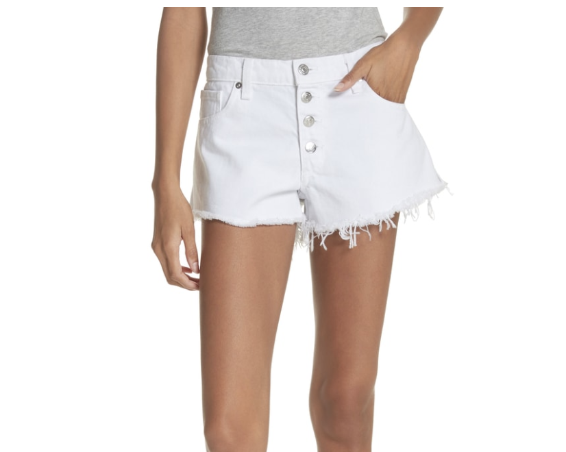 Veronica Beard Debbie Denim Shorts