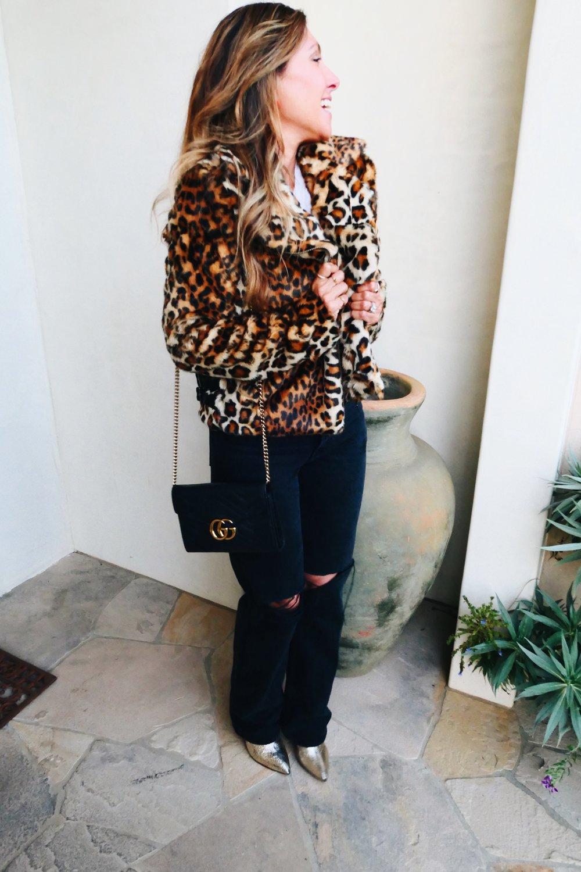 Melissa Meyers + Revolve + Redone + Shutz + Gucci + Baublebar