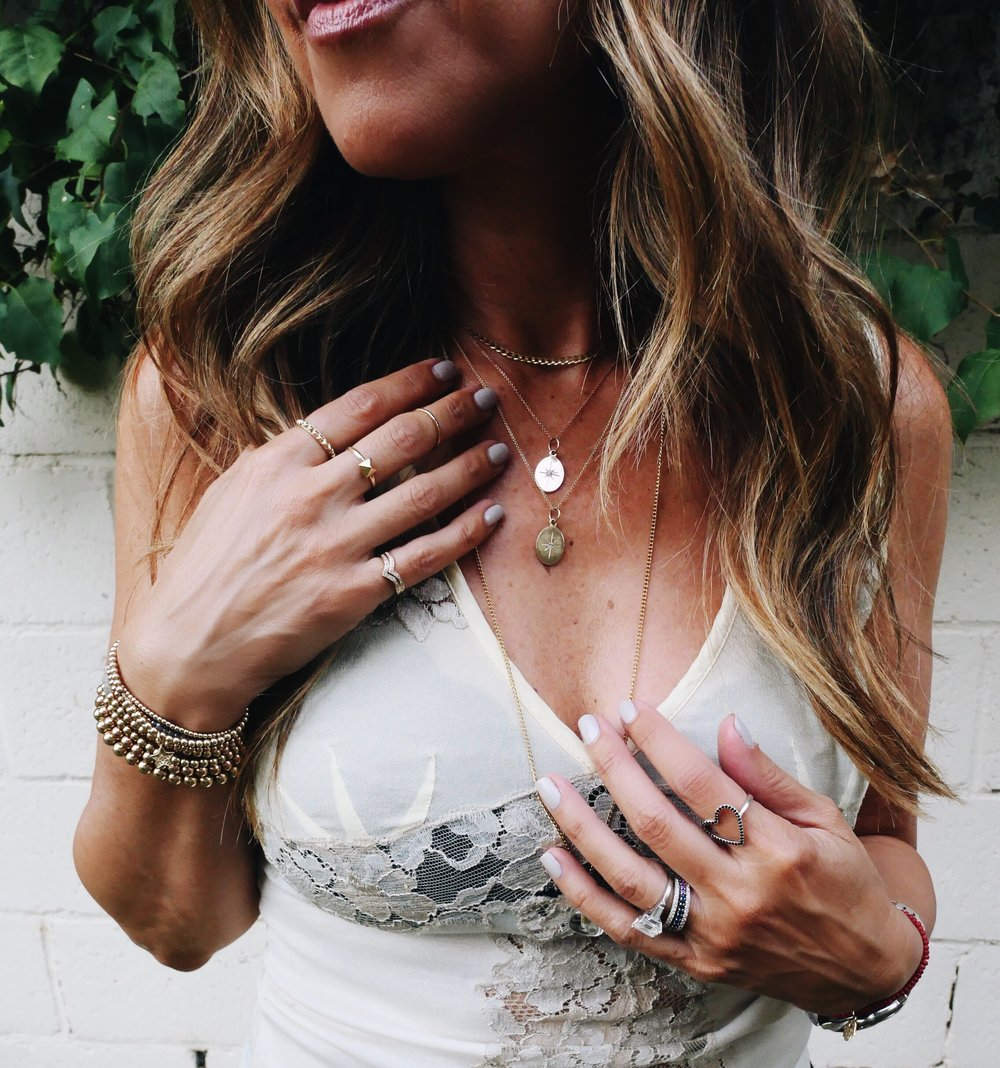Melissa Meyers + The Glow Girl + Looma Glow Necklace + Karen Lazar Design