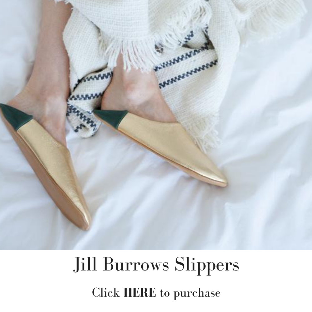 Melissa Meyers + Jill Burrows Slippers