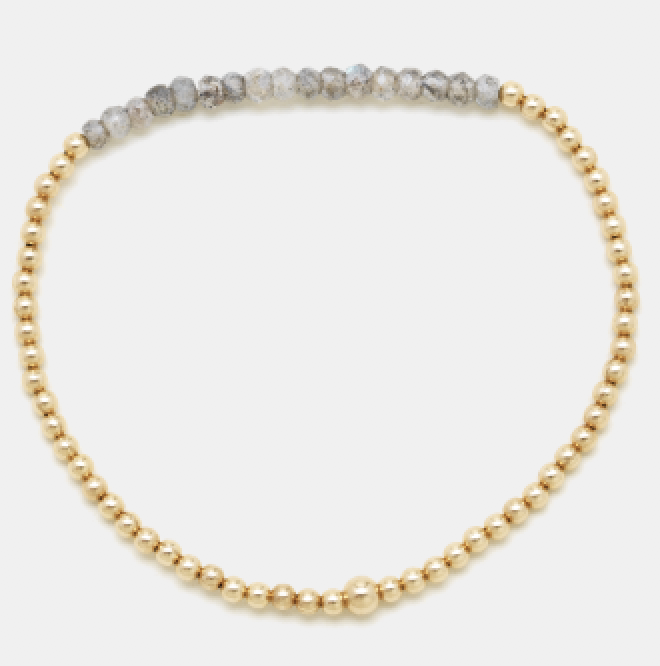 9. Karen Laazar Gold Bracelet