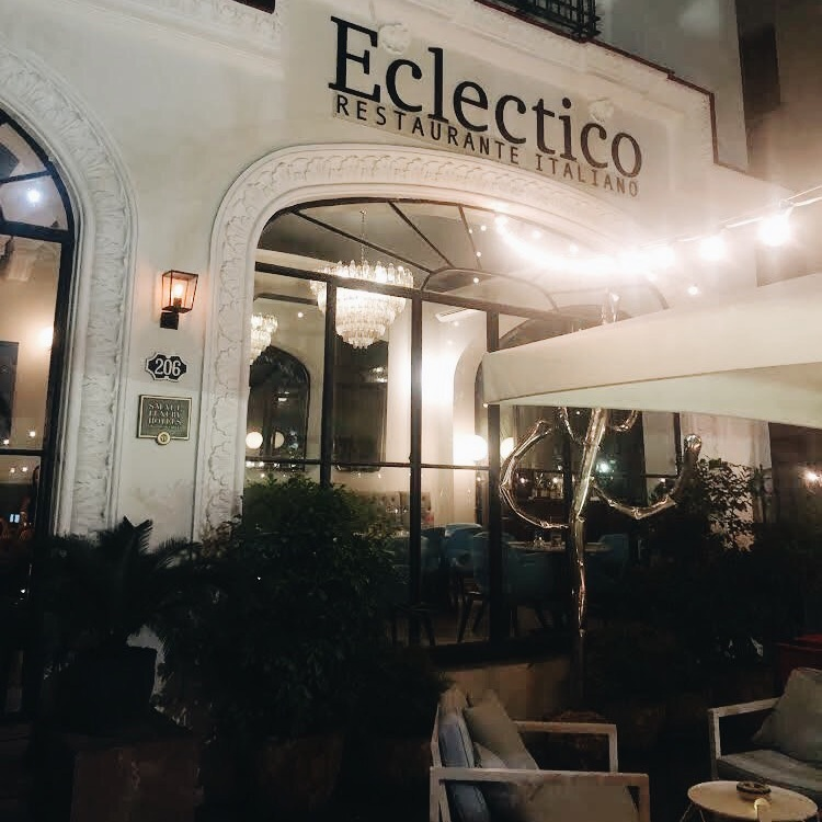 Restaurant Eclectico at  Paseo 206