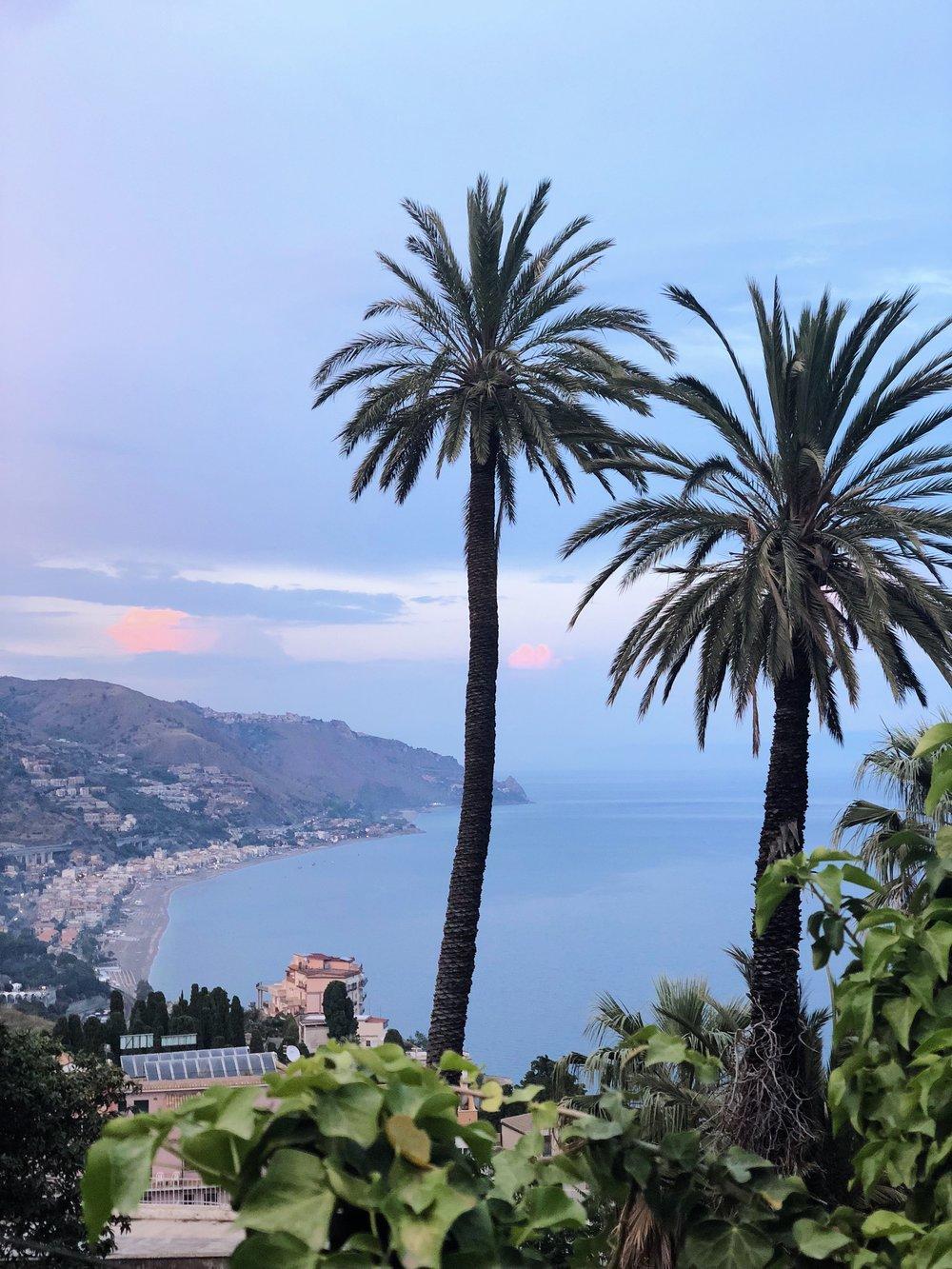 View of Taormina, Sicily