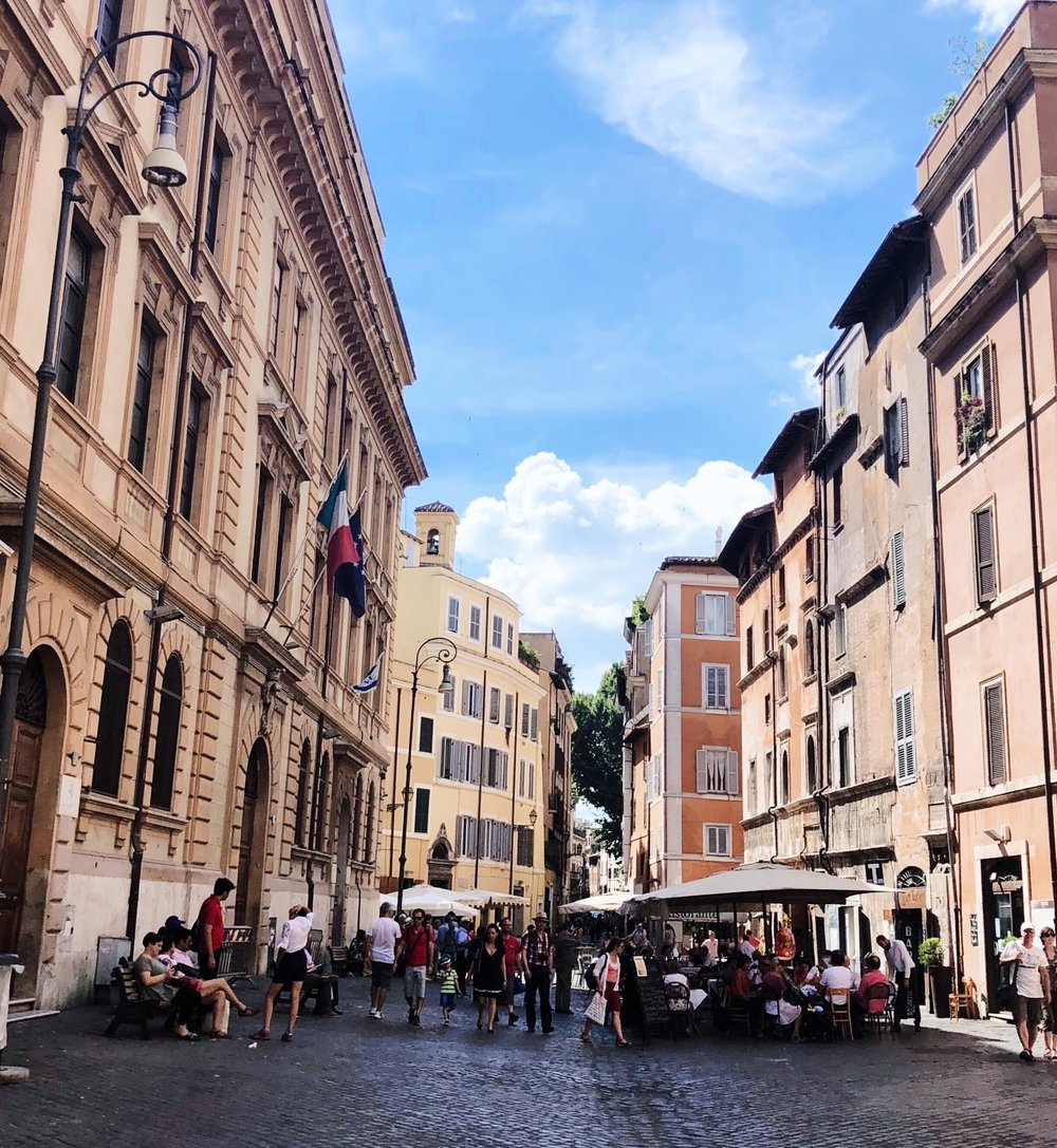 The  Jewish Quarter , Rome
