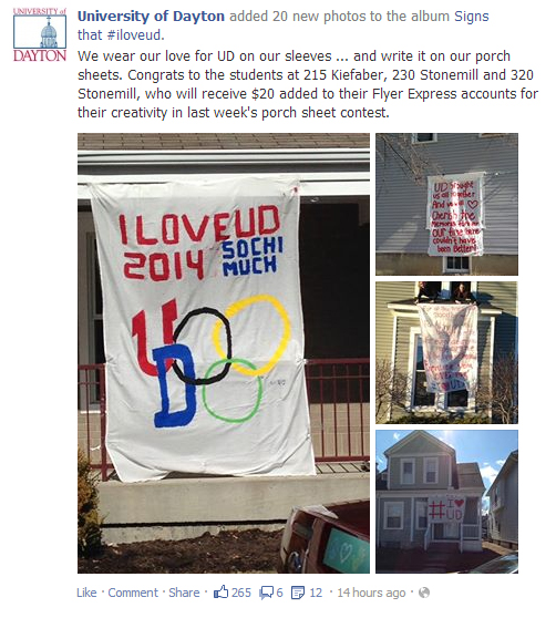 Great Social Media Idea Whats That Sheet On Your Porch