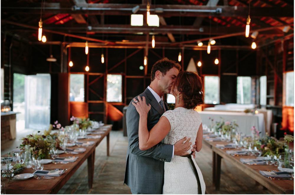 Weddings kiss