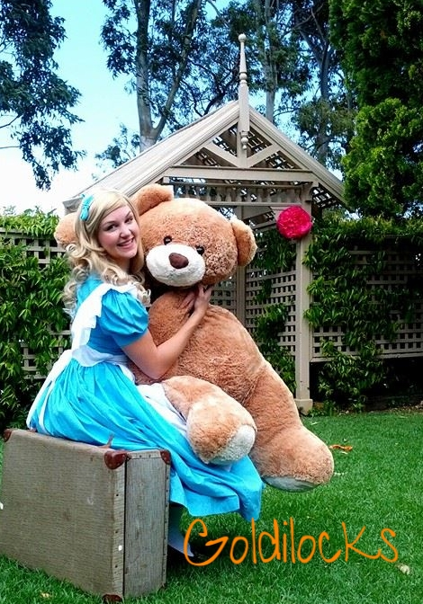 Goldilocks - Goldilocks is a wonderful character for Teddy Bears Picnic themed events! She brings fun, games, activities, and knows quite a few things about BEARS!
