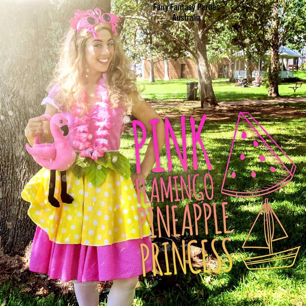 Pink Flaming Pineapple Princess -