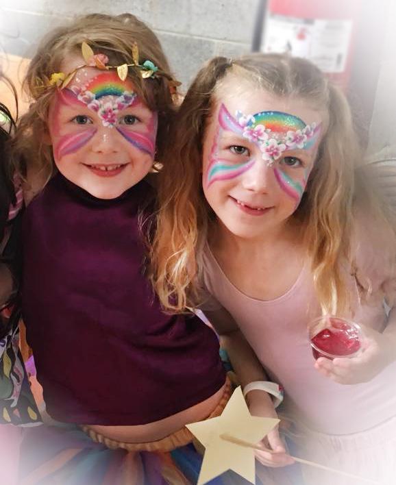 Fairy Face Paint Tilly and Millie.jpg