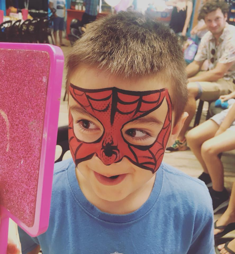 Spiderman Face Paint 2018 .jpg