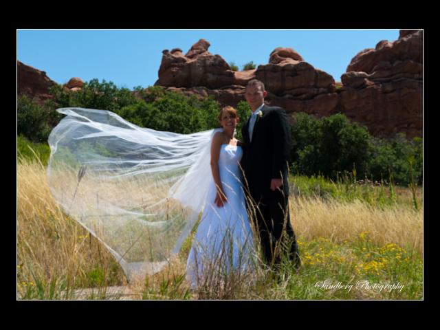 South Valley Park Romantic Wedding Photos