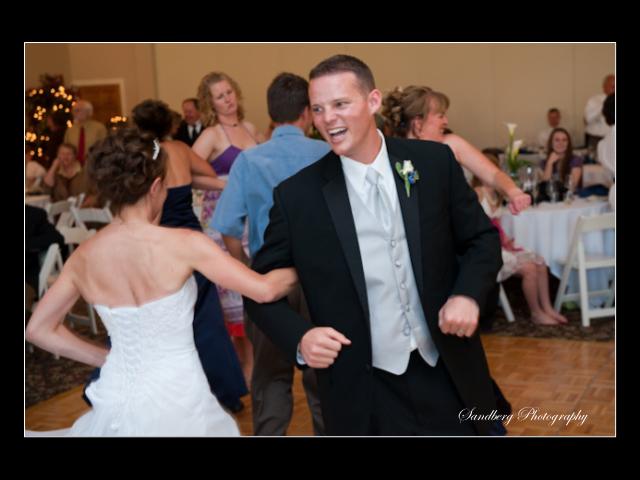 Wedding Reception Dancing at Terrace Gardens