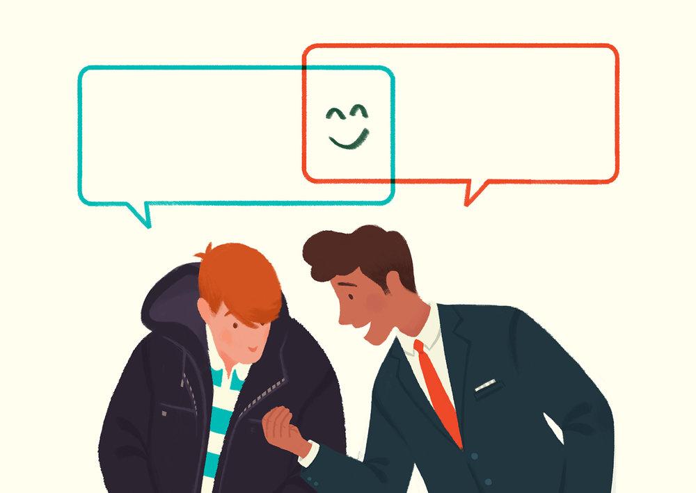 The Benefits of a Little Small Talk  Ileana Soon - Seen on Wall Street Journal