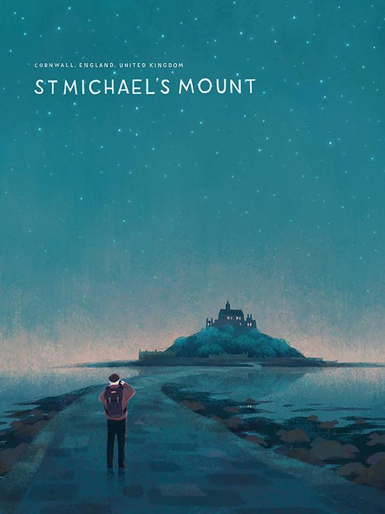 St Michael's Mount - Ileana Soon