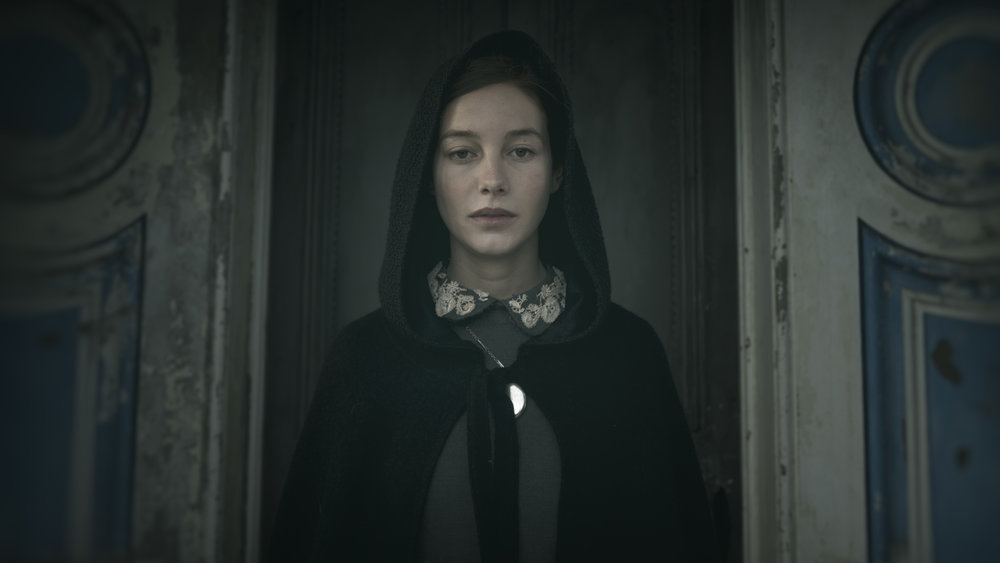 "Charlotte Vega as Rachel in the gothic horror film  ""THE LODGERS.""  Photo courtesy of Martin Maguire."