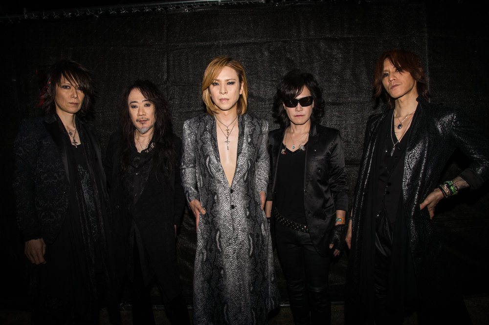 X Japan - Photo courtesy of Prime PR Group, INC