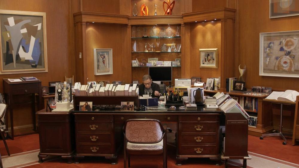 RBG's Office