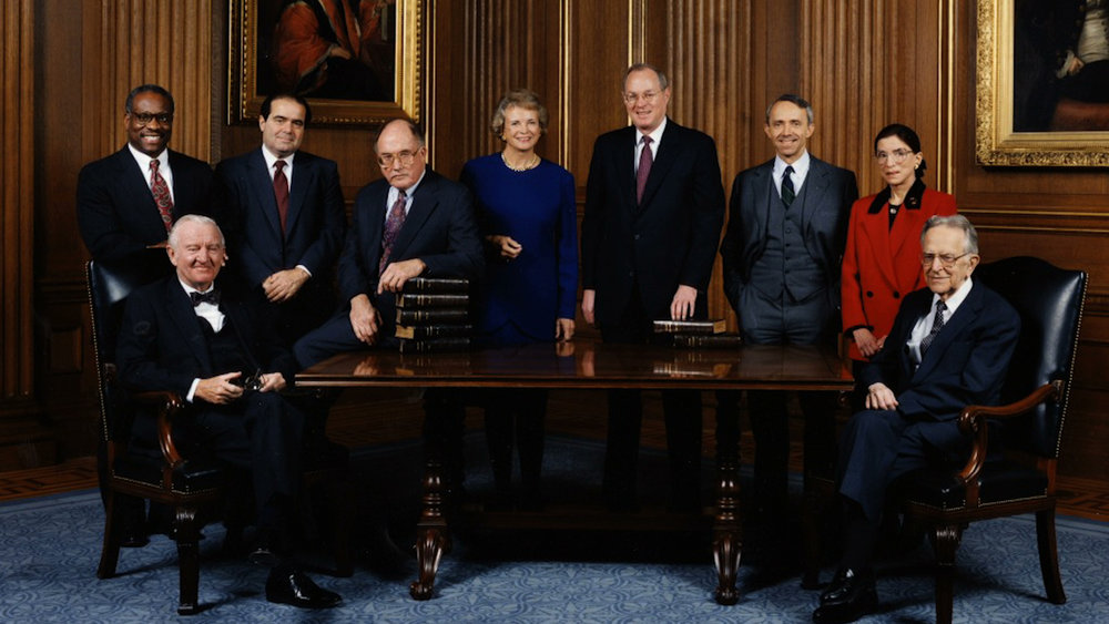 1993 Supreme Court Justices